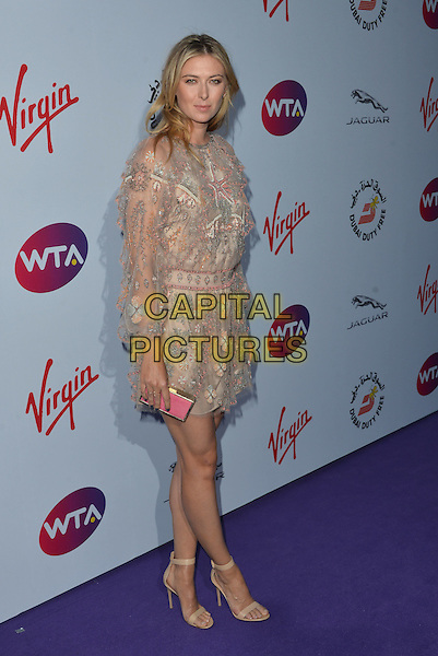 Maria Sharapova<br /> attending the WTA Pre-Wimbledon Party at  The Roof Gardens, Kensington, London England 25th June 2015.<br /> CAP/PL<br /> &copy;Phil Loftus/Capital Pictures
