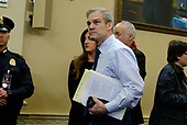 United States Representative Jim Jordan (Republican of Ohio) arrives to hear the testimony of Dr. Fiona Hill, former Senior Director for Europe and Russia, National Security Council (NSC), and David A. Holmes, Political Counselor, United States Embassy in Kyiv, Ukraine, on behalf of US Department of State, during the US House Permanent Select Committee on Intelligence public hearing as they investigate the impeachment of US President Donald J. Trump on Capitol Hill in Washington, DC on Thursday, November 21, 2019.<br /> Credit: Ron Sachs / CNP<br /> (RESTRICTION: NO New York or New Jersey Newspapers or newspapers within a 75 mile radius of New York City)