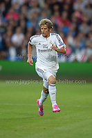 Cardiff City Stadium, Cardiff, South Wales - Tuesday 12th Aug 2014 - UEFA Super Cup Final - Real Madrid v Sevilla - <br /> <br /> Real Madrid&rsquo;s F&aring;bio Coentr&aring;o in action<br /> <br /> <br /> <br /> <br /> Photo by Jeff Thomas/Jeff Thomas Photography