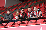Sheffield United fans during the Sky Bet Championship match at the Riverside Stadium, Middlesbrough. Picture date: August 12th 2017. Picture credit should read: Jamie Tyerman/Sportimage