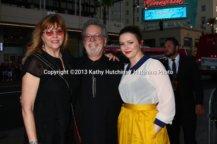 """LOS ANGELES - APR 29:  Amber Tamblyn, with her mom and dad (Russ Tamblyn) arrives at the """"Arrested Development"""" Los Angeles Premiere at the Chinese Theater on April 29, 2013 in Los Angeles, CA"""