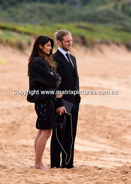 29 AUGUST 2016 SYDNEY AUSTRALIA<br /> WWW.MATRIXPICTURES.COM.AU<br /> <br /> EXCLUSIVE PICTURES<br /> Home &amp; Away filming Billys Funeral at Palm Beach with  Pia Miller, George Mason, Ada Nicodemou, Alec Snow, Charlie Clausen, Phillipa Northeast, Matt Little, Raechelle Banno, Scott Lee, Orpheus Pledger, James Stewart, Isabella Giovinazzo and Ray Meagher.<br /> <br /> *No internet without clearance*.<br /> <br /> MUST CALL PRIOR TO USE <br /> <br /> +61 2 9211-1088. <br /> <br /> Matrix Media Group.Note: All editorial images subject to the following: For editorial use only. Additional clearance required for commercial, wireless, internet or promotional use.Images may not be altered or modified. Matrix Media Group makes no representations or warranties regarding names, trademarks or logos appearing in the images.