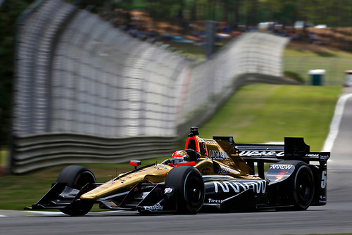 22-24 April, 2016, Birmingham, Alabama USA<br /> 5 James Hinchcliffe<br /> ©2016, Phillip Abbott<br /> LAT Photo USA