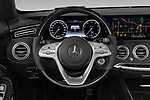 Car pictures of steering wheel view of a 2019 Mercedes Benz S-Class - 2 Door Convertible Steering Wheel
