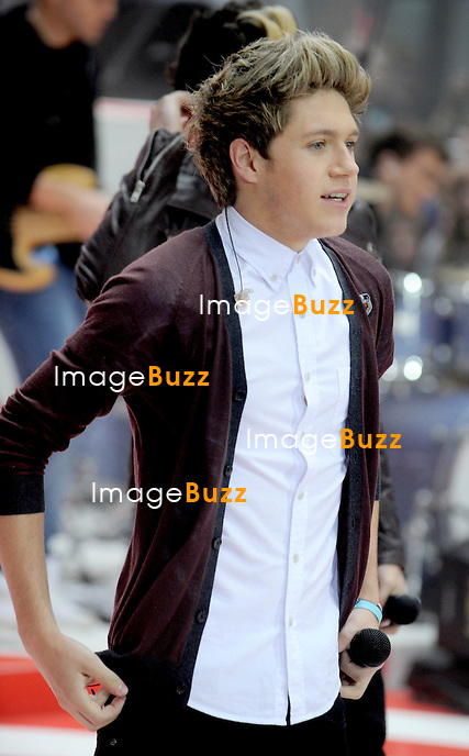 """One Direction performs on """"The Today Show"""" in New York City..November 13, 2012."""