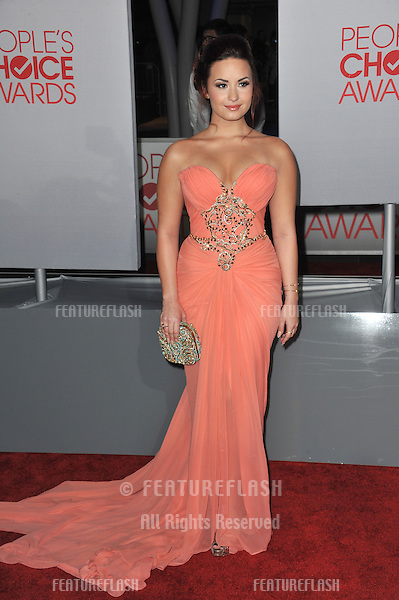 Demi Lovato at the 2012 People's Choice Awards at the Nokia Theatre L.A. Live..January 11, 2012  Los Angeles, CA.Picture: Paul Smith / Featureflash