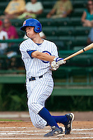 DJ LeMahieu of the Daytona Cubs during the game at Jackie Robinson Ballpark in Daytona Beach, Florida on August 29, 2010. Photo By Scott Jontes/Four Seam Images