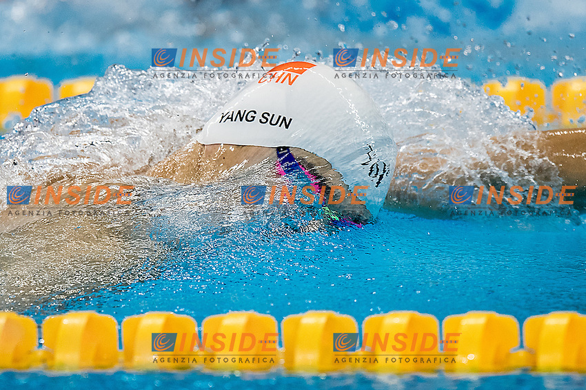 Sun Yang CHN<br /> 200 freestyle men<br /> Rio de Janeiro 06-08-2016 XXXI Olympic Games <br /> Olympic Aquatics Stadium <br /> Swimming heats 07/08/2016<br /> Photo Andrea Staccioli/Deepbluemedia/Insidefoto
