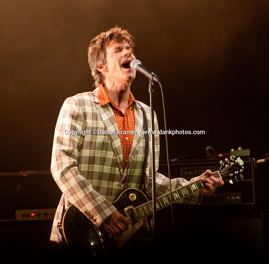 Paul Westerberg performs with The Replacements at Midway Stadium in St. Paul, MN the bands first hometown appearance in 23 years. (9-13-14)