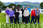 Enjoying the St John of Gods golf classic in Killarney on Friday were l-r; Des Hayes, Jennifer O'Sullivan, Vincent Laake, Eileen buckley, Nora Sseveinde, Mags O'Donoghue, Micheal O'Muircheartaigh, Micheal Fleming, Martin Sheehan, and Paul O'Sullivan