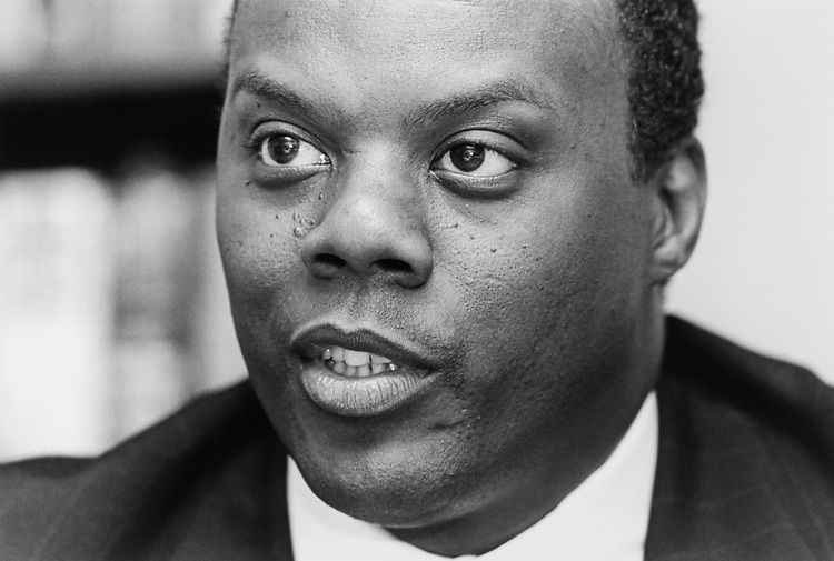 Rep. J. C. Watts, R-Okla., in April 1994. (Photo by Laura Patterson/CQ Roll Call)