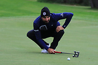 Francesco Laporta (ITA) on the 7th green during Round 4 of the Challenge Tour Grand Final 2019 at Club de Golf Alcanada, Port d'Alcúdia, Mallorca, Spain on Sunday 10th November 2019.<br /> Picture:  Thos Caffrey / Golffile<br /> <br /> All photo usage must carry mandatory copyright credit (© Golffile | Thos Caffrey)