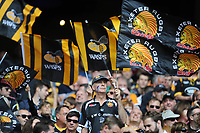 Fans enjoying the action during the Premiership Rugby Final at Twickenham Stadium on Saturday 27th May 2017 (Photo by Rob Munro)