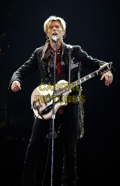 DAVID BOWIE<br /> Live At Ahoy Stadium,<br /> Rotterdam, 15th October 2003<br /> www.capitalpictures.com<br /> sales@capitalpictures.com<br /> &copy;Capital Pictures
