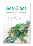 "New 2013 Sea Glass 12x18"" Large Format Wall Calendar- also on Amazon"