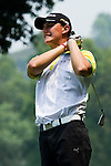 Daniel Owen of England tees off during the 2011 Faldo Series Asia Grand Final on the Faldo Course at Mission Hills Golf Club in Shenzhen, China. Photo by Victor Fraile / Faldo Series