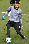 Real Madrid's Keylor Navas during training session. February 14,2017.(ALTERPHOTOS/Acero)
