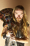 Various portrait sessions of the guitar hero, Zakk Wyle