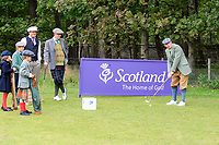 /{prsn}/ at the hickory challenge ahead of the  Scottish Senior Open Championship, Craigielaw Golf Club, East Lothian, Scotland. 13/09/2018.<br /> Picture Fran Caffrey / Golffile.ie<br /> <br /> All photo usage must carry mandatory copyright credit (© Golffile | Fran Caffrey)