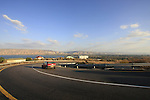 Israel, Lower Galilee. Road 767, the ascend from the Sea of Galilee to Poriya