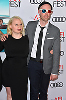 LOS ANGELES, CA. November 09, 2018: Ashley Young &amp; Joel Potrykus at the AFI Fest 2018 world premiere of &quot;Green Book&quot; at the TCL Chinese Theatre.<br /> Picture: Paul Smith/Featureflash