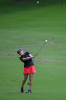 Ceilia Barquin Arozamena (a)(ESP) hits her approach shot on 17 during round 1 of the U.S. Women's Open Championship, Shoal Creek Country Club, at Birmingham, Alabama, USA. 5/31/2018.<br /> Picture: Golffile | Ken Murray<br /> <br /> All photo usage must carry mandatory copyright credit (&copy; Golffile | Ken Murray)