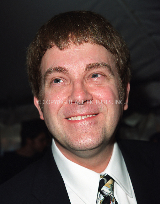 """Writer Max Allan Collins attending a special screening of """"Road to Perditon"""" to benefit the Association of the HITWG Camps and the International Rescue Committee. New York, July 9, 2002.  Please byline: Alecsey Boldeskul/NY Photo Press.   ..*PAY-PER-USE*      ....NY Photo Press:  ..phone (646) 267-6913;   ..e-mail: info@nyphotopress.com"""