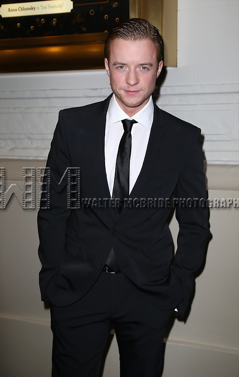 Matthew James Thomas attends the Broadway Opening Night Performance of  'Living on Love'  at  The Longacre Theatre on April 20, 2015 in New York City.