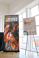 An event for youth advocates hosted by the non-profit Women Deliver.