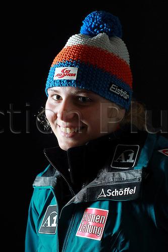 16.10.2010  Winter sports OSV Einkleidung Innsbruck Austria. Ski Alpine OSV Austrian Ski Federation. Picture shows Mariella Voglreiter AUT