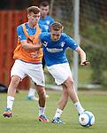 Lewis MacLeod and Robbie Crawford