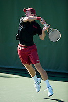 STANFORD, CA- MARCH 10, 2013 - Stanford Men's Tennis vs Boise State.