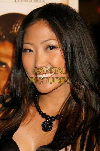 "JELYNN RODRIGUEZ.""Harsh Times"" Los Angeles Premiere held at the Crest Theater, Westwood, California, USA..November 5th, 2006.Ref: ADM/RE.headshot portrait black necklace.www.capitalpictures.com.sales@capitalpictures.com.©Russ Elliot/AdMedia/Capital Pictures. *** Local Caption *** ."