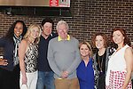 Guiding Light's Michael O'Leary with Yvonna Kopacz Wright, Beth Chamberlin, Jerry ver Dorn, Wendy Madore, Liz Keifer, As the World Turns' Anne Sayre - 1st Annual Bauer BBQ hosted by Michael O'Leary - 13th Annual Daytime Stars and Strikes for Autism on April 24, 2016 at The Residence Inn Secaucus Meadowlands, Secaucus, NJ. April is Autism Awareness Month - Make a Difference This Spring. (Photo by Sue Coflin/Max Photos)