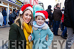 Amelia Keane and Marie Looby from Tralee enjoying the Christmas Parade on Saturday in Tralee.