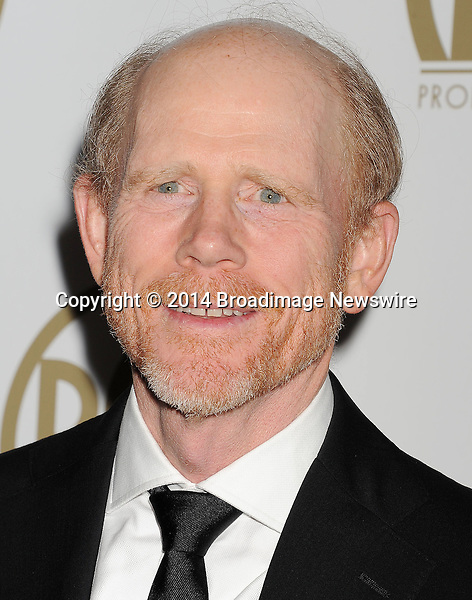 Pictured: Ron Howard<br /> Mandatory Credit &copy; Joseph Gotfriedy/Broadimage<br /> 25th Annual Producers Guild Awards<br /> <br /> 1/19/14, Beverly Hills, California, United States of America<br /> <br /> Broadimage Newswire<br /> Los Angeles 1+  (310) 301-1027<br /> New York      1+  (646) 827-9134<br /> sales@broadimage.com<br /> http://www.broadimage.com