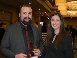 Chris and Jenni McQuattie during Big Chefs Big Gala at the Grand Sierra Resort in Reno, Nevada on Saturday, April 13, 2019.