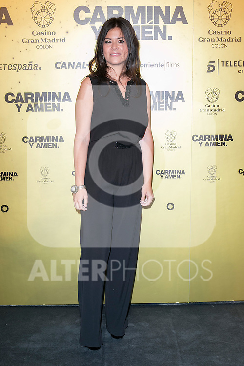 "Vanessa Marti attend the Premiere of the movie ""Carmina y Amen"" at the Callao Cinema in Madrid, Spain. April 28, 2014. (ALTERPHOTOS/Carlos Dafonte)"