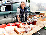 Caroline Workman at her stall in the Drogheda Market. Photo:Colin Bell/pressphotos.ie