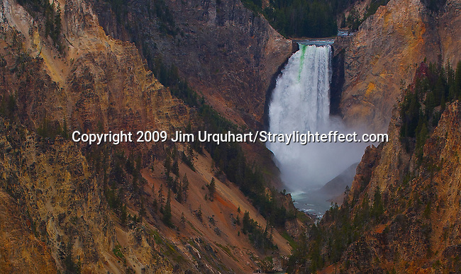 Jim Urquhart/Straylighteffect.com Jim Urquhart/Straylighteffect.com The Lower Yellowstone Falls on the Yellowstone River in Yellowstone National Park. Jim Urquhart/Straylighteffect.com