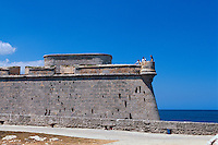 Cuba, Castillo de los tres Reyes del Morro  in Habana-Casblanca, UNESCO-Weltkulturerbe