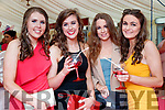 Claire O'Sullivan (Tournafulla), Rachel Mullane (Askeaton), Sarah Neville (Pallaskenry) and Aoife Colbert (Kilcolman), enjoying Ladies Day at Listowel Races on Friday last.