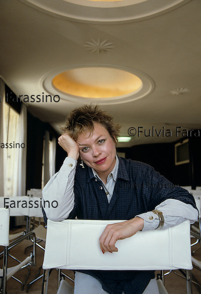 Cannes, 1990, Laurie Anderson