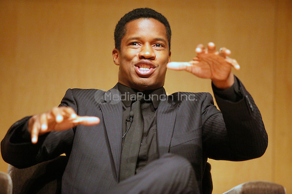 Pictured at exclusive screening of George Lucas' documentary Double Victory is  Nate Parker, actor in the film,  at the National Constitution Center in Philadelphia, Pa on November 15, 2011  © Star Shooter / MediaPunchInc