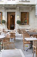 restaurant l'oustalet gigondas rhone france