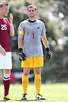 31 August 2014: Elon's Nathan Dean (ENG). The Elon University Phoenix played the Loyola Marymount University Lions at Koskinen Stadium in Durham, North Carolina in a 2014 NCAA Division I Men's Soccer match. Elon won the game 1-0.