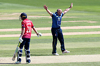 Darren Stevens of Kent celebrates taking the wicket of Tom Westley during Essex Eagles vs Kent Spitfires, Royal London One-Day Cup Cricket at The Cloudfm County Ground on 6th June 2018