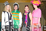 FASHION: Modeling some of the fine clothes at the Recovery Haven Fashion Show Luncheon,on Sunday in Ballyroe Heights Hotel, Tralee, l-r: Grace Madden and Dean James (models) Margaret Brick (organiser) and Kristetin nMckenzie-Vass.