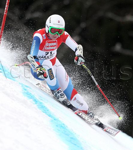 08 01 2012  Ski Alpine FIS WC Bath Kleinkirchheim Super G for women Bath Kleinkirchheim Austria  Picture shows Fabienne Suter SUI