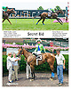 Secret Bid winning at Delaware Park on 7/13/15
